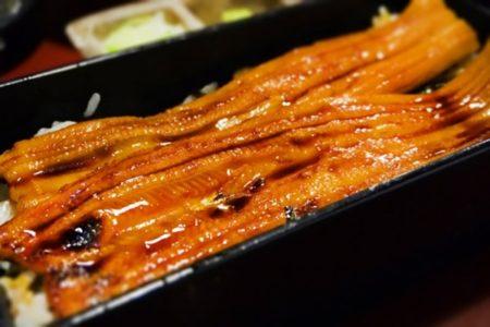 アナゴ釣りの後は美味しいかば焼き