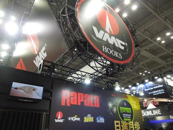 ジャパンフィッシングショー2018:ラパラ