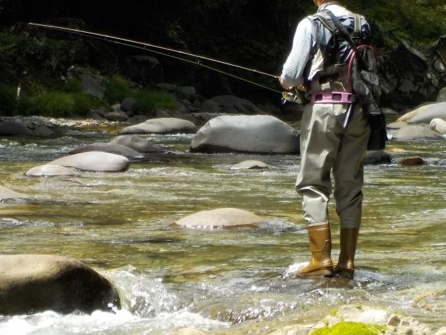 渓流釣りを始めよう