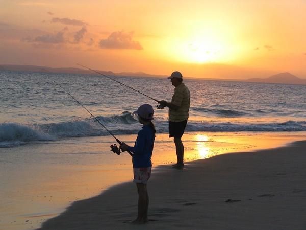 投げ釣りを楽しもう!