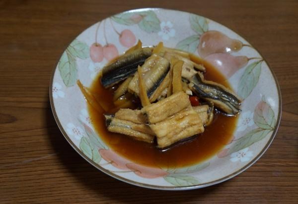 アナゴは煮ても美味しい!