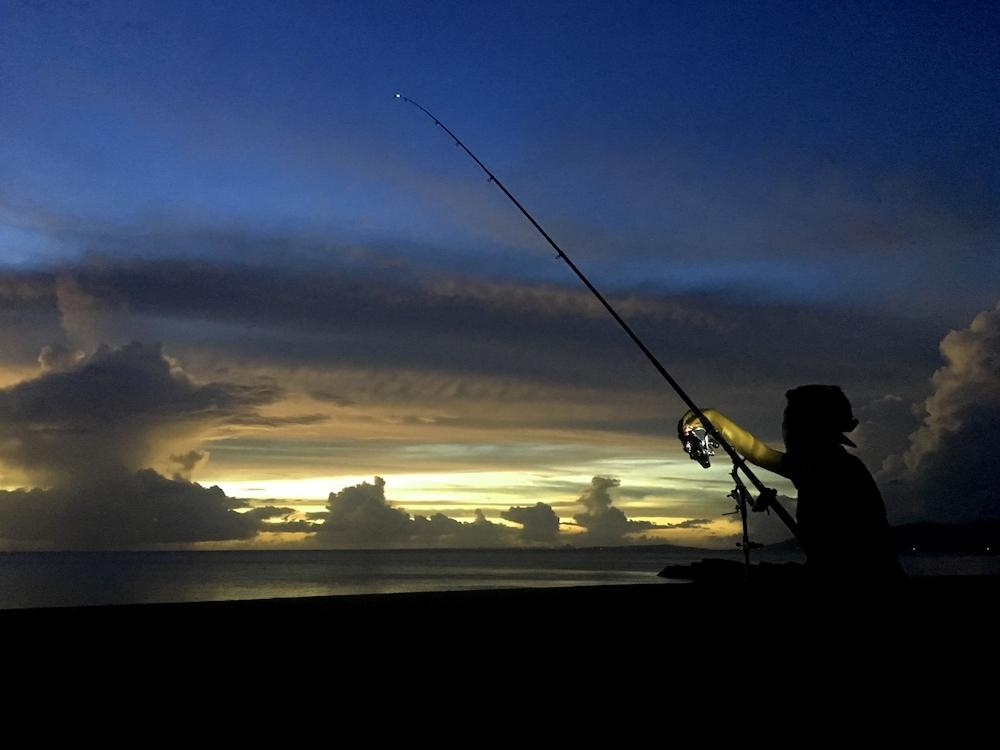 夜釣りは事故に注意!