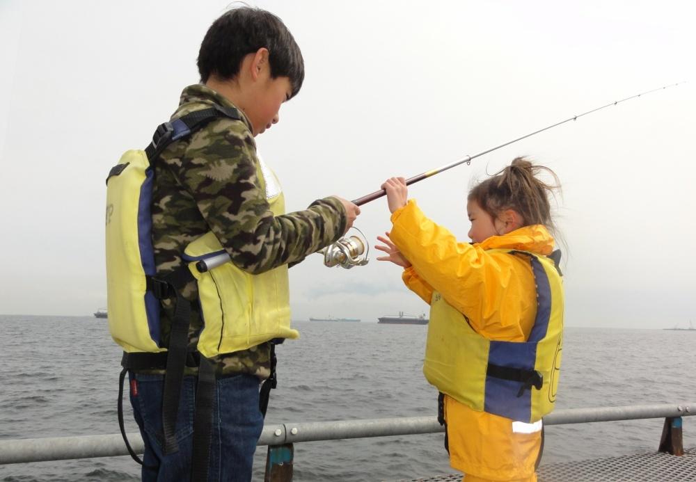 堤防釣り初心者には海釣り施設もオススメ