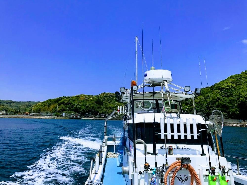 サクラマス釣りは船からもできる!