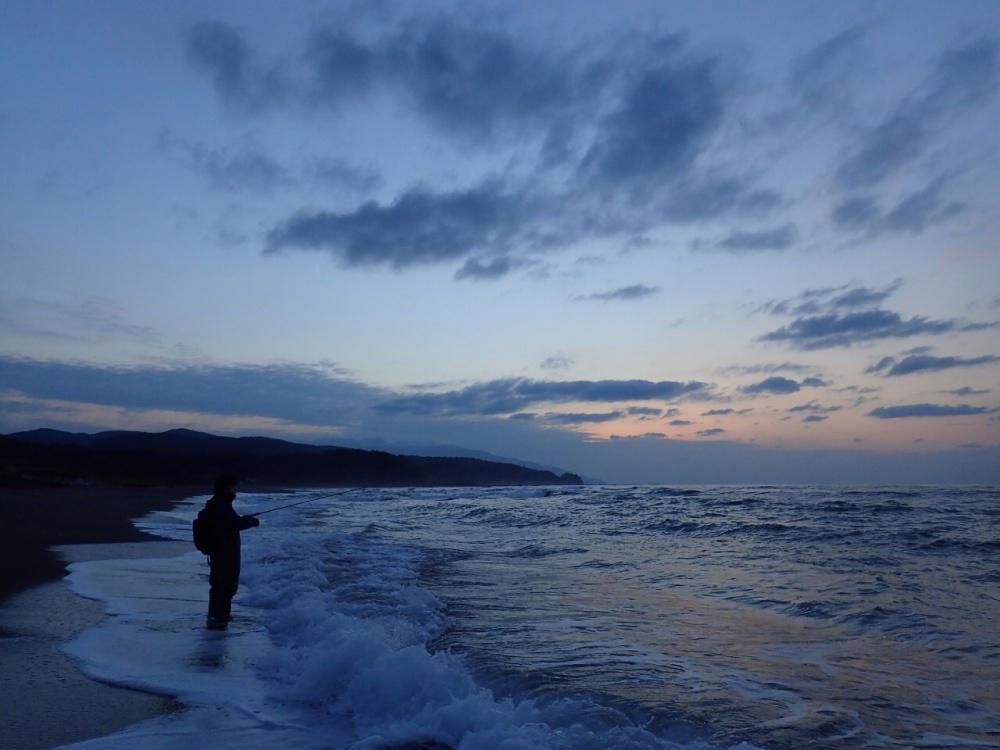 北海道ではサーフからサクラマス釣りができる!