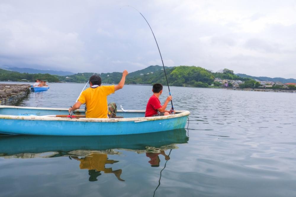 キス釣りはボートからも楽しめる!