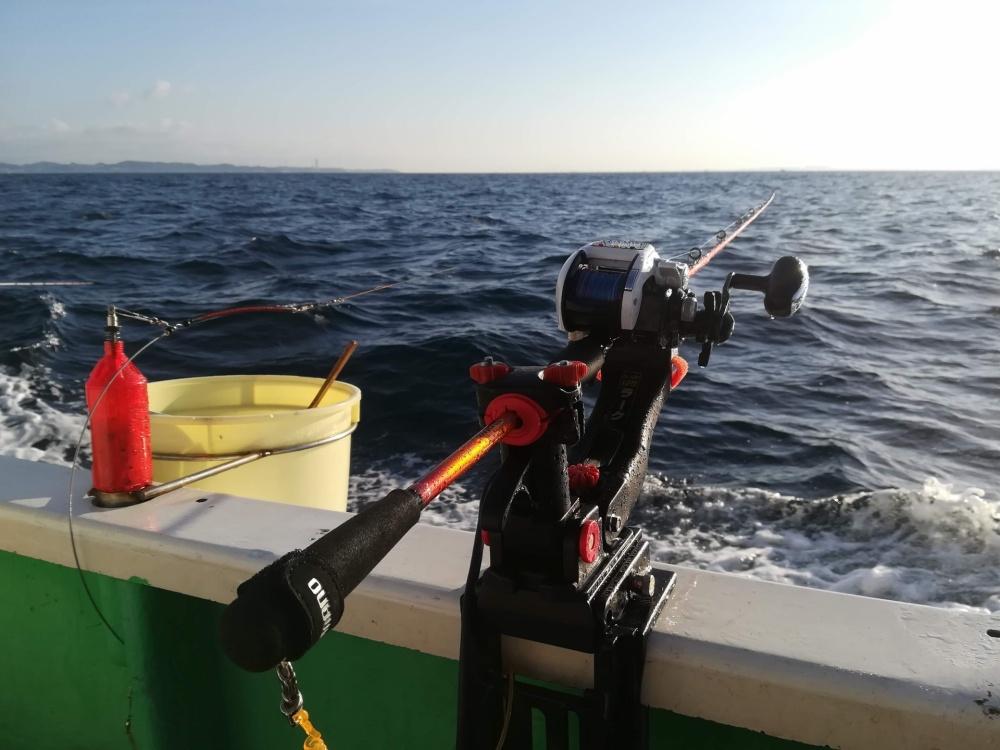 船釣りではマグシールドは心強い味方