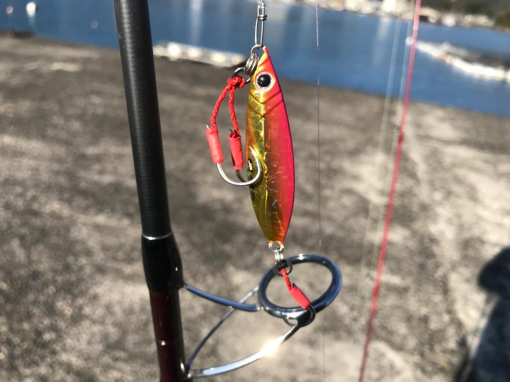 ジグパラスローで低活性の魚を攻略